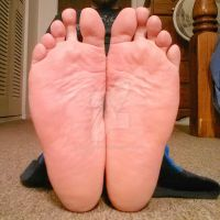 Soft Pink Soles by PrettyBareFootBoy
