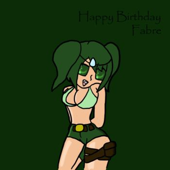 Happy birthday, Fabre by DraconicWorlds