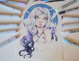 Fuyu - The Goddess of Winter by Lighane