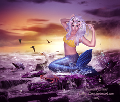 Mermaid Dreamscape by Drury-Lane