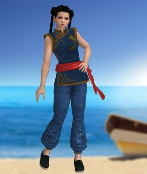 Pai Chan Costume Default by DragonLord720