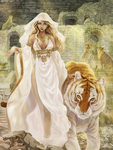 Mother of tigers by meago