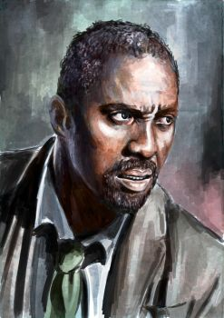 Idris Elba by Eleonore