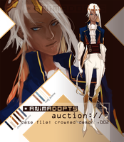 paypal adopt auction [CLOSED] - crowned demon .002 by animadopts