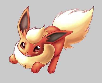 Flareon by Naaraskettu