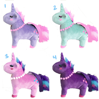 Unicorn plush other colors by zambicandy
