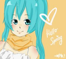scribble. spring. hello. by panda-kann