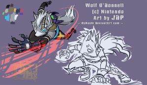 Wolf Poses by OsHoshi
