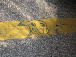 Please do not park on the Pikachu... by AcidicFishes