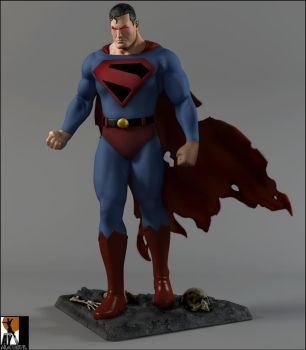 Superman kingdom come Aftermath! by AYsculpture