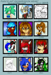 Progression meme 2015 by KeyaraHedgehog09