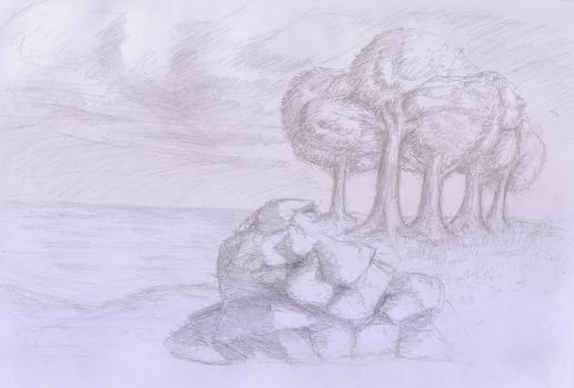 Nature Scene [Pencil] by zperakos