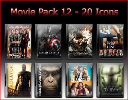 Movie Pack 12 - 20 Icons by jake2456