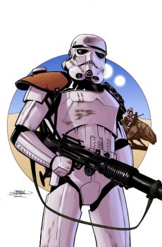 Terry Dodson - Sandtrooper - Colors by Hitokirisan