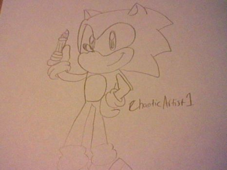 Sonic the Hedgehog by ChaoticArtist1