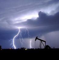 A Stormy Time For Oil by Bvilleweatherman