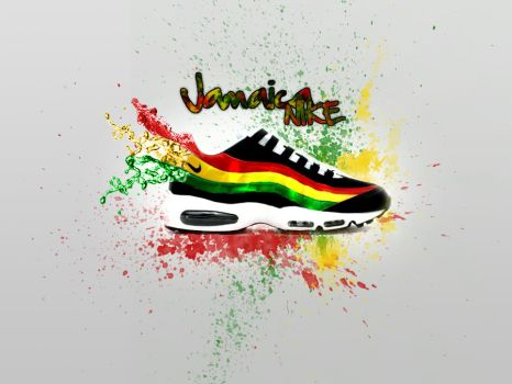 Nike Jamaica Wallpaper by dsquaredgfx