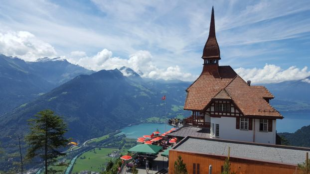 Hut over Interlaken by Arminius1871