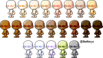 [ F2U ] Skin Tones by Bathtoys