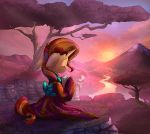 Kimodo Sunset (Collab with Vest) by Tsitra360