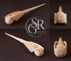 WIP Special Wand No.7 ''The Golden Snitch'' by SRG-Wands