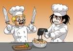 Iron Chef - Hellsing by ErinPtah