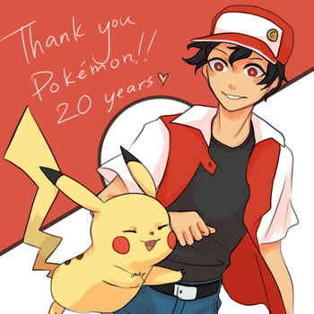 happy 20th bday pokemon!! by fluquor