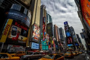 Times Square by Anto2b