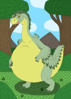 Wild Arms' big belly by MCsaurus