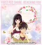 PSD Share | Reaching You | Kimi Ni Todoke by ryushurei