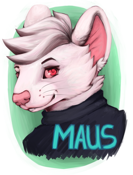 Maus Badge by 1-M-3-A-3-U-7-S