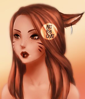 Chat Miqo'te by C-H-A-T