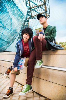 Big Hero 6 - KNUCKLEHE4D | Tadashi and Hiro Hamada by TrustOurWorldNow