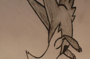 First Latias Drawing by EchoSongs