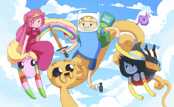 Adventure Time Buds by NuclearMango