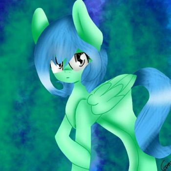 Water Lily (Another OC of mine) by MelodyFox36