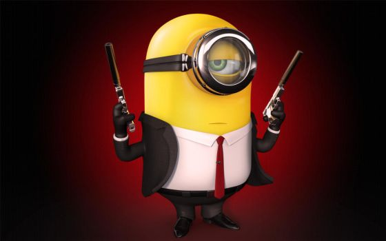 Minion Hitman by BorisFomin