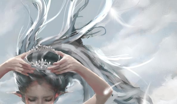 Guilty Crown by wlop