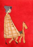 2. airedale lady by dobie