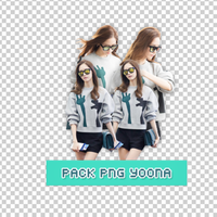 Pack PNG YoonA by pomzwon01
