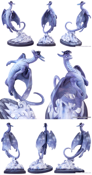 I  am the Dragon, I am the Sky - Details by emilySculpts