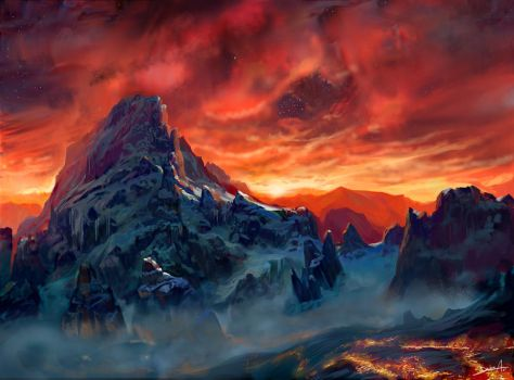 Mountain by Lyno3ghe