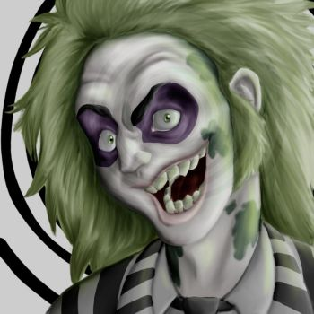 beetlejuice by MartianBean