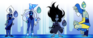 [A] - Lapis Lazuli (closed) by FloofHips