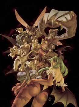 Darkstalkers Tribute Cover by UdonCrew