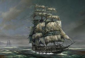 The Flying Dutchman by Forerunner134