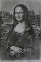 A Mona Lisa drawing by AndyFlash0f