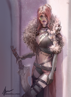 barbarian girl by mrssEclipse
