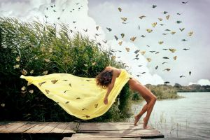 Free as butterfly by gercendre