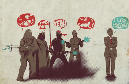 I Love Wars by mathiole